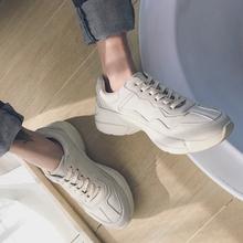 @小呆~男复古低帮鞋 慢跑鞋 休闲男鞋潮 韩版运动男鞋 街头潮鞋男