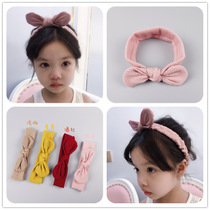 Baby Hair accessories Children Hair other jewelry head with rabbit ear European and American popular children hair belt butterfly his wife ornaments