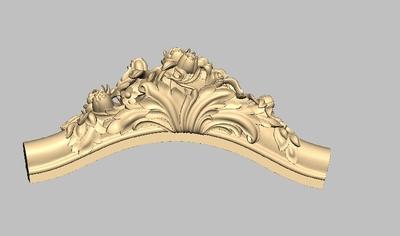 12#沙发扑头STL格式三维立体圆雕浮雕图欧式家具腿木雕图雕刻笔修
