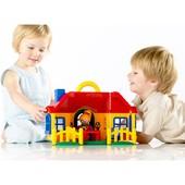 超值可爱过家家大房子玩偶关节可动可站可坐1-5岁玩具推荐必入
