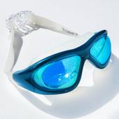 Cleacco力酷泳镜正品 专业泳矩信大框防水防雾电镀膜游泳镜