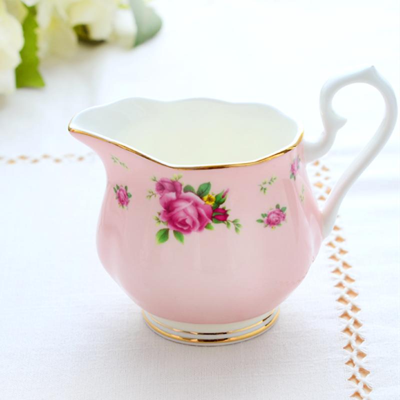 欧式茶具英式下午茶奶缸糖缸红茶茶壶家用储物罐骨瓷咖啡具套装