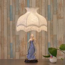 胡桃国王台灯样板房儿童房装饰卧室梳妆台灯创意床头卡通灯饰灯具
