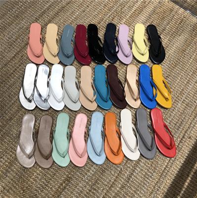 韩国东大门女鞋代购19夏新款简约韩版休闲度假海边沙滩人字凉拖鞋