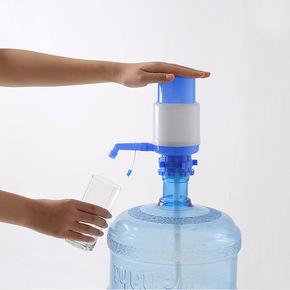 压水器桶装水抽水器饮水机水龙头支架纯净水桶手压式矿泉水吸水器