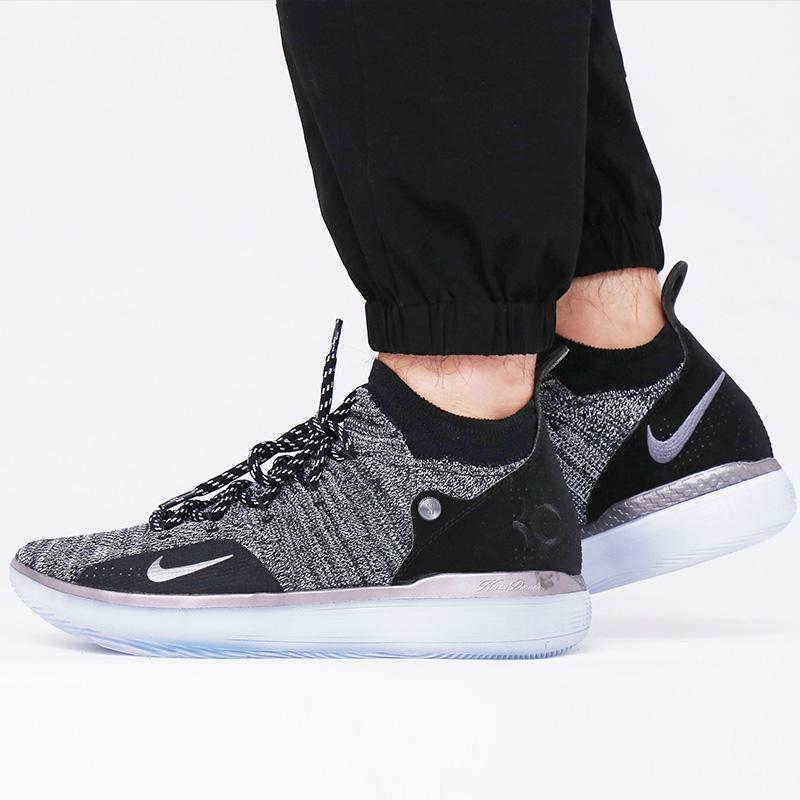 耐克男鞋2018秋新款杜兰特11气垫场上实战运动篮球鞋AO2605-004