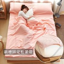 酒店隔脏睡袋大人室内宾馆出差旅游单双人便携式纯棉防脏旅行床单