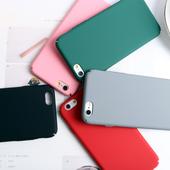 纯色简约苹果6手机壳5S全包磨砂iphone7防摔6Splus硬壳8超薄外壳E图片