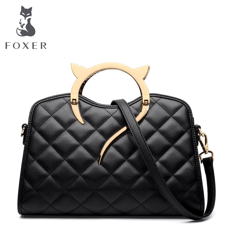LA奢侈品女包国际大牌潮新款女士经典菱格纹单肩包职业气质手提包