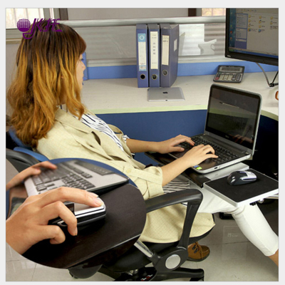 木质方脚椅子用笔记本电脑桌笔记本电脑支架鼠标托键盘托桌面延长