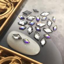 正品SWAROVSKI美甲饰品施华洛世奇水晶奥地利水钻正菱形平底钻