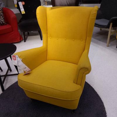 西安宜家  斯佳蒙 靠背椅 单人沙发深蓝 绿色 黄色 灰色排行
