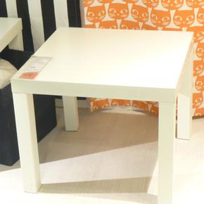 西安宜家 拉克边桌子 床头桌小茶几四方桌咖啡桌儿童积木桌