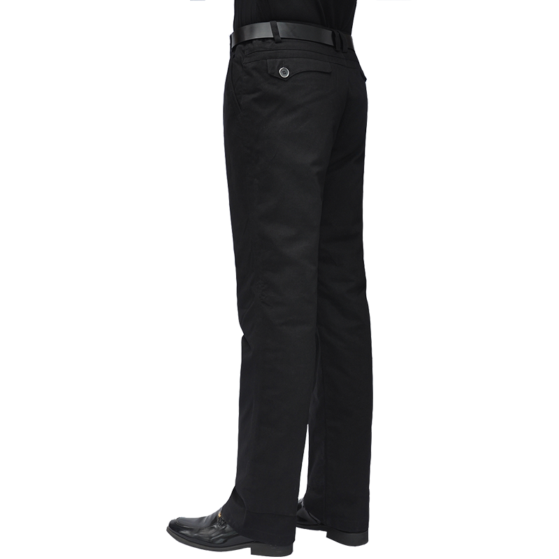 男士羽绒裤中老年高腰休闲裤子内胆可脱卸加厚保暖白鹅绒男式棉裤