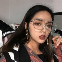 透明方形眼镜