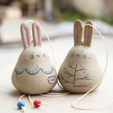 龙猫陶瓷风铃挂件 卧室晴天娃娃小风铃批发挂饰创意儿童生日礼物