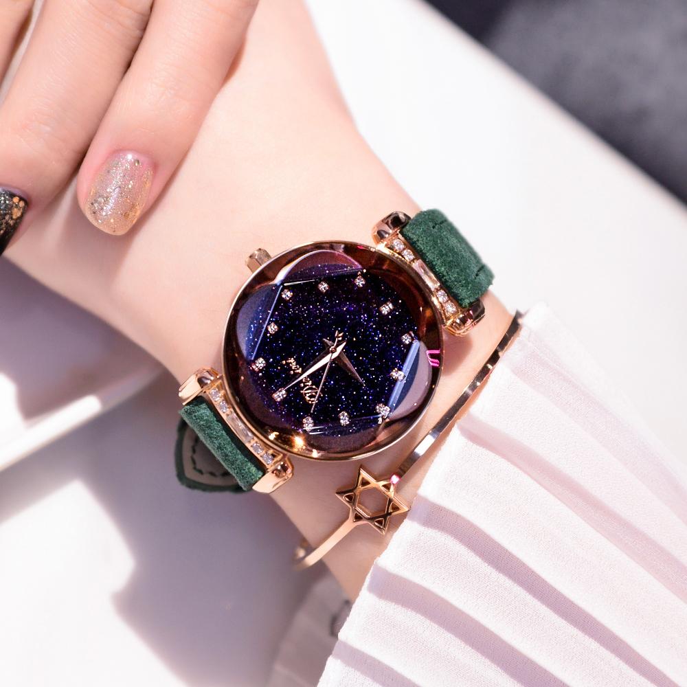 大表盘手表女水钻