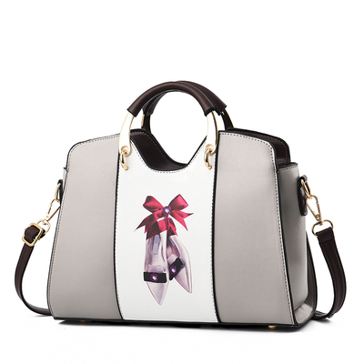 包包女2018新款潮时尚简约单肩斜跨中年妈妈包大气百搭女士手提包