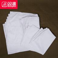 双漫成人枕头内胆套多规格枕芯套全白家用涤棉枕芯袋枕芯皮防尘袋