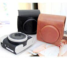富士instax相机包 立拍得mini90 皮套 相机包 皮革包90相机袋