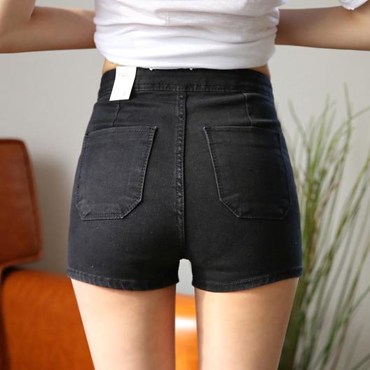 牛仔裤欧美弹力女