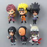 Cartoon animation creative three-dimensional Naruto magnet refrigerator sticker message sticker household refrigerator decorations