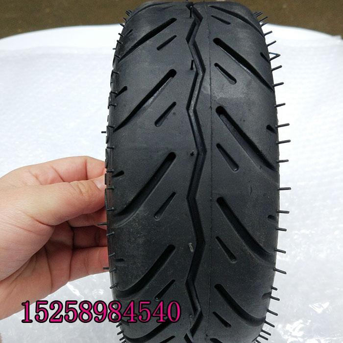 电动滑板车公路胎轮毂电机真空轮胎10寸真空胎10X3.00-6轮胎