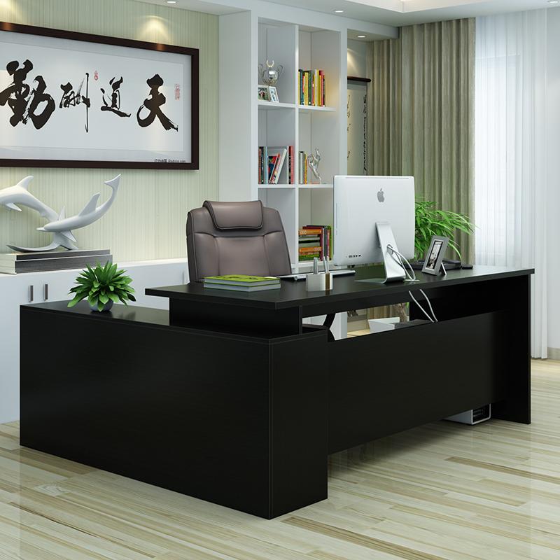办公家具老板桌办公桌椅大班台主管桌经理桌子简约现代单人