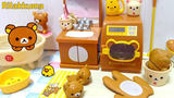 Japan Re-ment food play box egg model Easy bear life groceries Bathroom furniture supplies micro-shrinkage