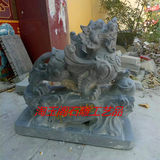 Tao Yuge stone carving feng shui ornaments home a pair of lucky town house stone lapis lazuli carving crafts