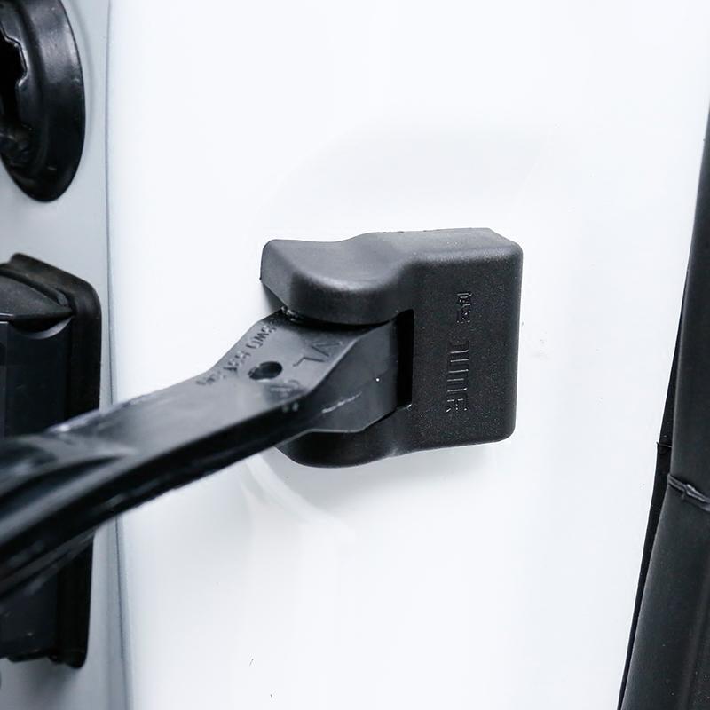 奥迪新A4L A6L A1 A3 A5 A7 Q3 Q5 改装车门限位器开关保护盖防锈