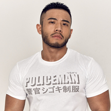 HANSBENNNY original Japanese T-shirt with round collar and short sleeve, men's leisure sport fashion personality trend in summer