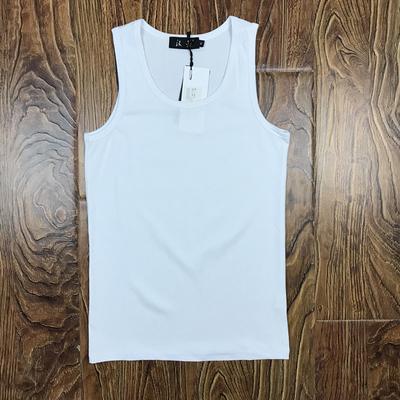 包邮男士纯棉运动紧身背心夏季青年透气男修身型无袖打底白汗衫潮
