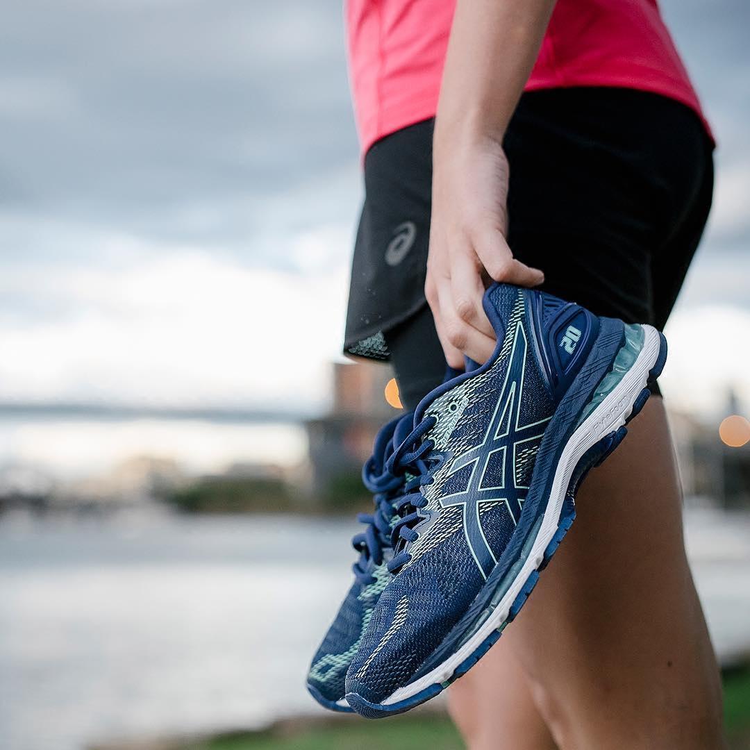 ASICS亚瑟士GEL-NIMBUS 20 (D)缓冲跑步鞋运动鞋女鞋T851N-4949