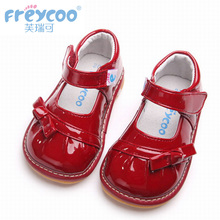 亮面公主单鞋 幼儿园表演鞋 4岁宝宝小皮鞋 芙瑞可春秋季女童皮鞋