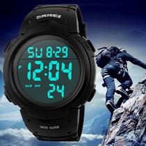 户外运动大表盘防水男士电子表时尚潮流多功能青少年手表学生腕表