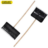 Household large thickening increase plastic snow shovel outdoor agricultural snowboard snow clear snow removal snow sweeping tools