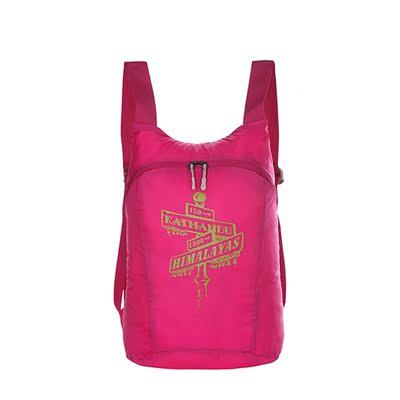 探路者男女通款 15升双肩包户外超轻背包2016春夏新款TEBD80621