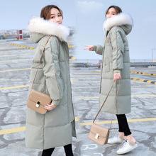 Korean version of the new winter women's down jacket in the winter of 2018