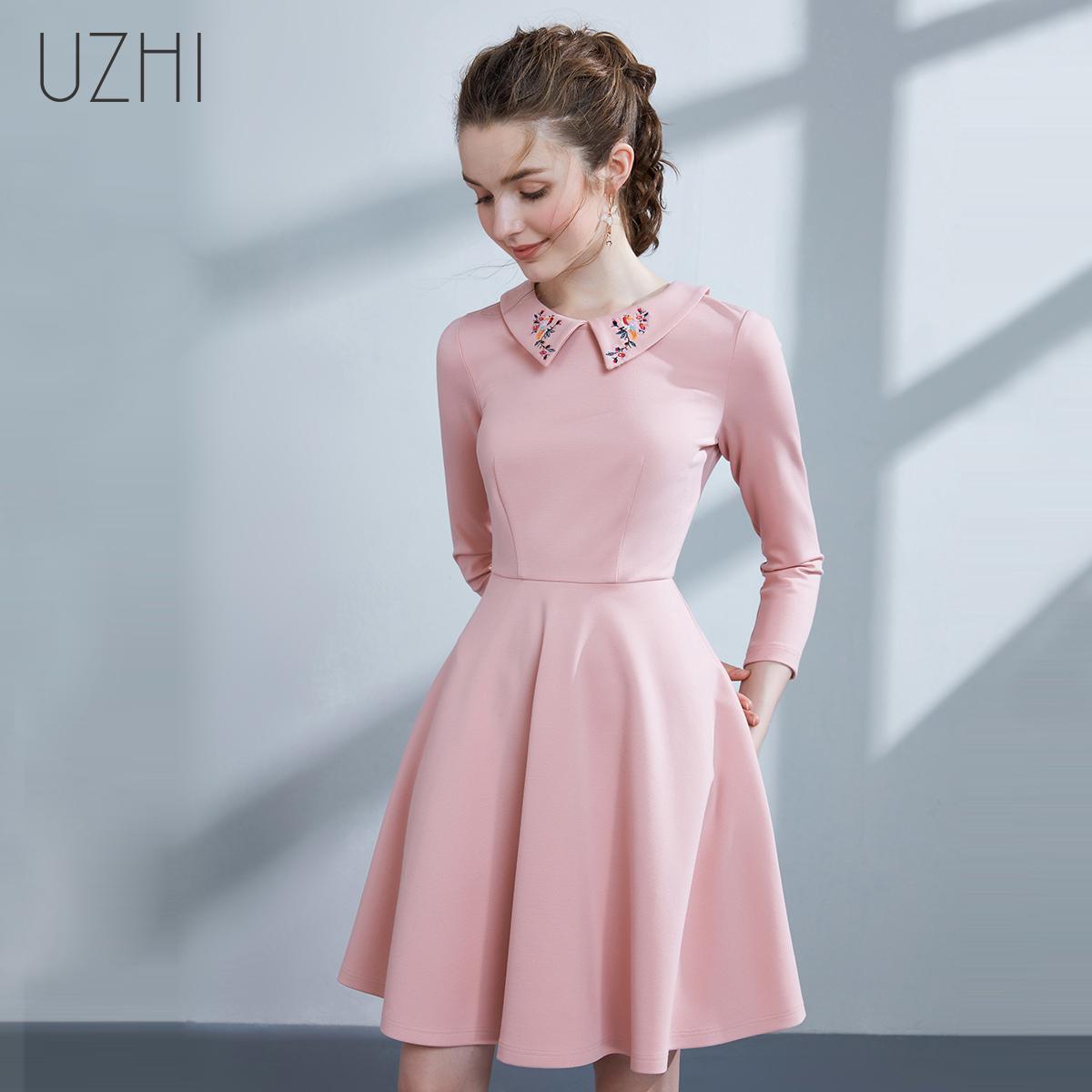 粉色娃娃连衣裙