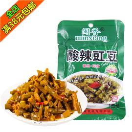闽香酸辣豇豆70g福建闽南特产开味小菜腌菜下饭菜开胃菜榨菜图片