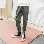 多色韩版工装裤