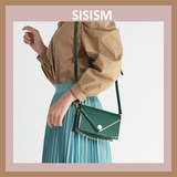 SISISM spring and summer new 2019 Korean version of the fashion shoulder bag wild leather chain small bag Messenger bag female