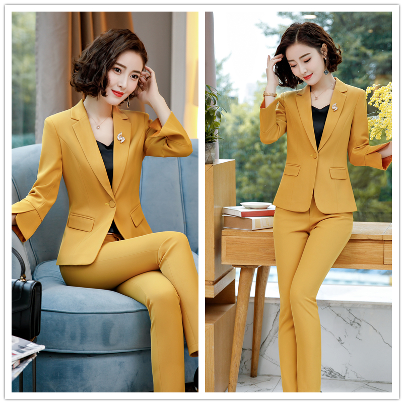 professional wear suit female 18 new fashion OL Temperament Slim Korean Office