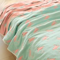 Микро изъян утолщение шифрования восемь слой хлопка марлевые полотенце детей ребенок лист двойной кондиционер НПД одеяло