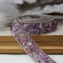 衣服飾品輔料配件diy衣服上裝飾品輔料珠子婚紗配件燙鉆鏈條