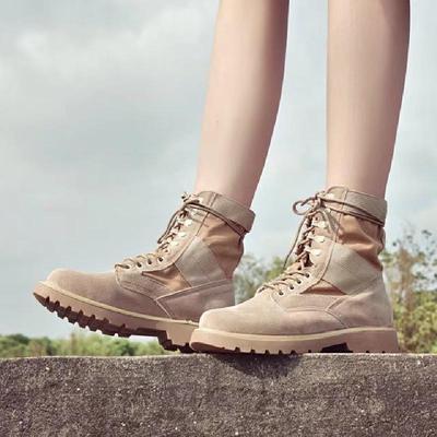 2017秋冬复古马丁靴女英伦风军靴粗跟短靴新款机车单靴学生女靴子