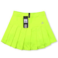 Haoyunqi spring and summer new women's anti-light sports skirt skirt pants tennis badminton skirt pants aerobics fitness band pocket