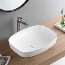 陶瓷艺术盆卫生间台上盆圆形仿古洗脸盆复古洗手盆家用台盆面盆