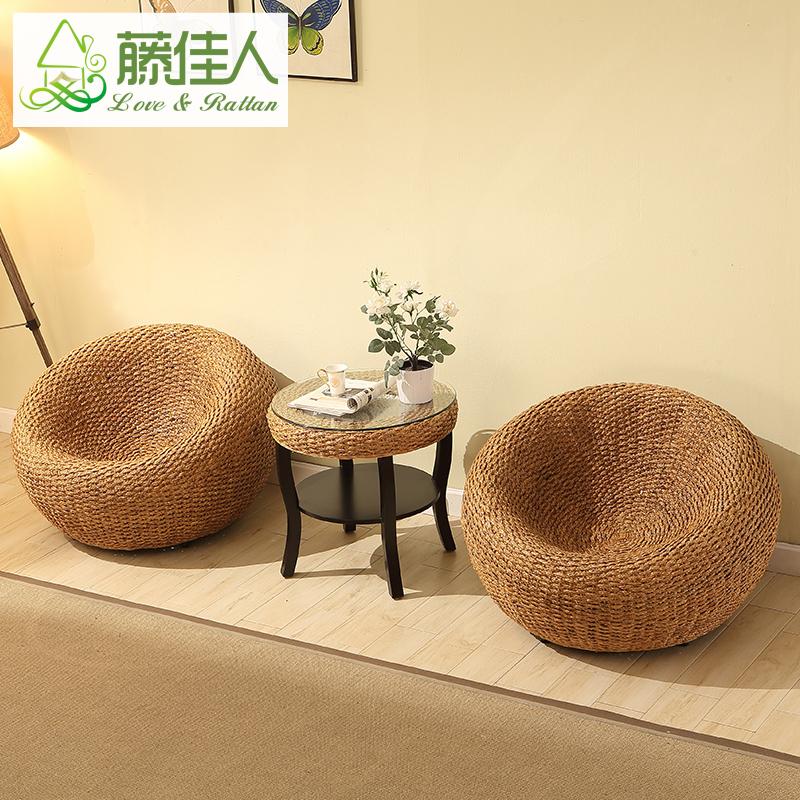 藤佳人藤椅沙发椅HC608-13